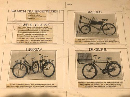 Voor een elektrische cargobike moet je in Antwerpen al 35 jaar bij De Geus zijn
