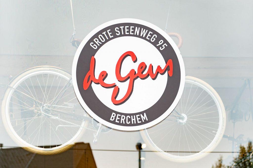 Logo van Fietsenwinkel De Geus