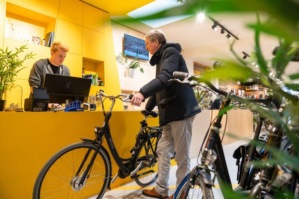 Testrit fietsen in Antwerpen