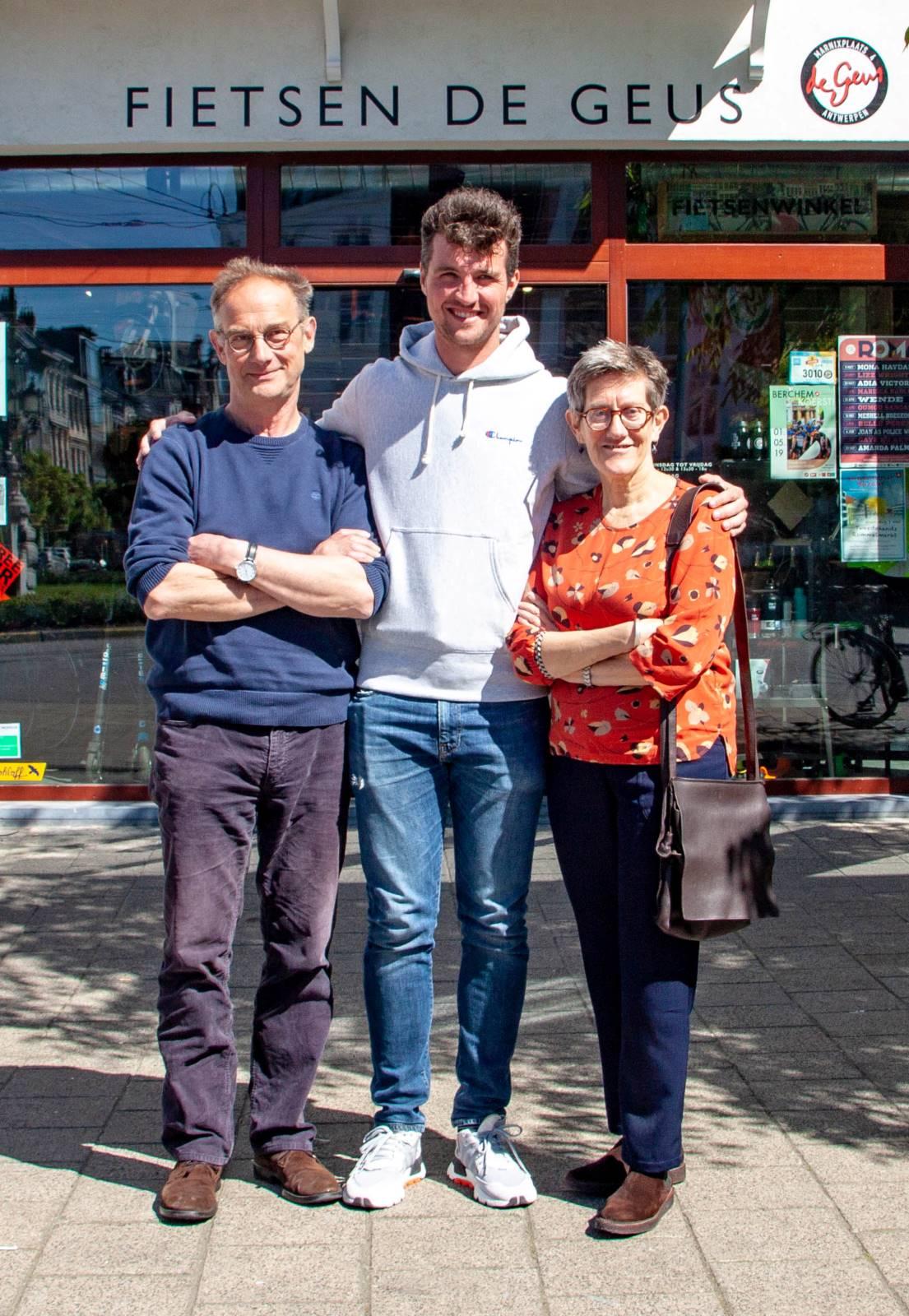 Marie-Jeanne Theunissen, Dirk Vanthillo en Thomas Vanderhoydonck