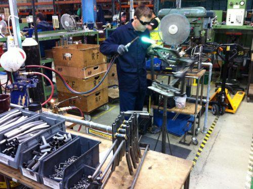 Vouwfietsen van A tot Z: een bezoek aan de Brompton-fabriek in London