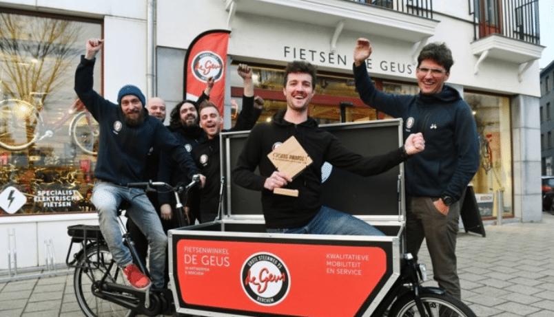 Cargobike deelsysteem Antwerpen