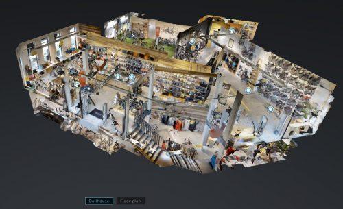 Bekijk onze fietsenwinkel in Antwerpen in 3D