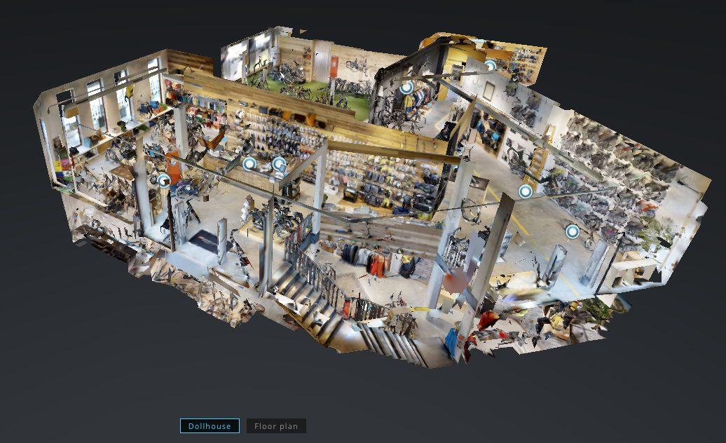De Geus Antwerpen in 3D Google Street View