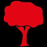 Icoon van een boom
