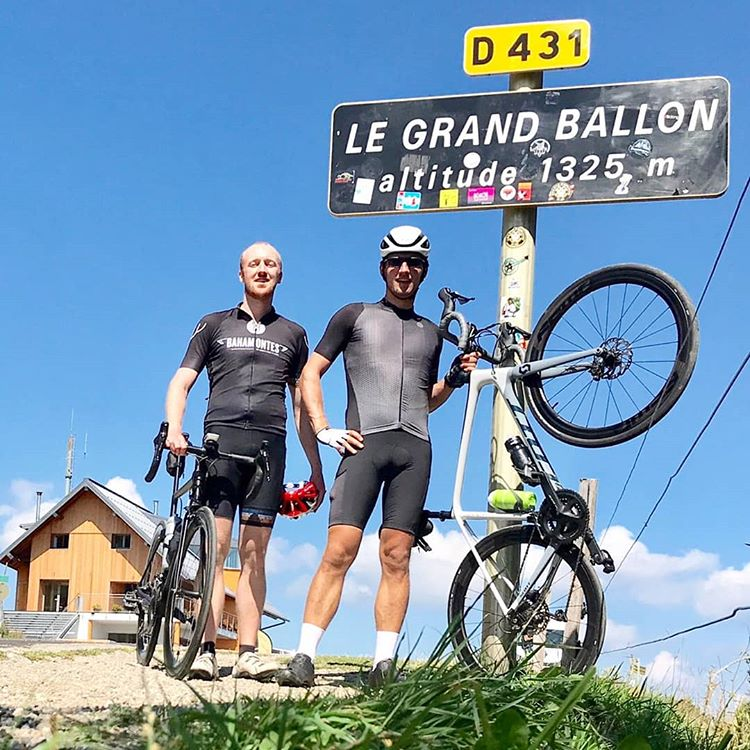 Pieter Fillet op Le Grand Ballon