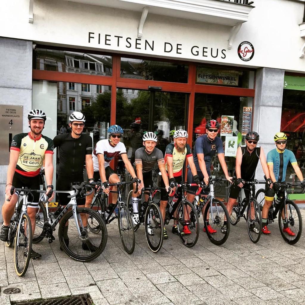 Team van Fietsenwinkel De Geus