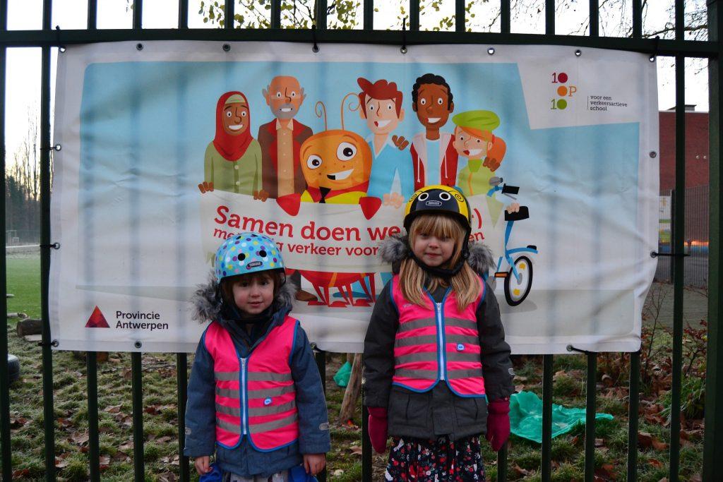 Verkeersveiligheid voor kinderen in Antwerpen
