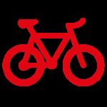 Icoon van een fiets