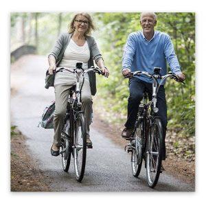 Op vakantie met elektrische fiets