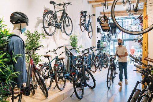 Op afspraak ben je ook nu welkom in onze fietsenwinkels