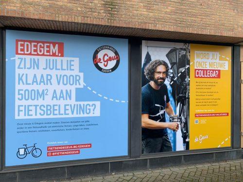 Topzaak in aanbouw: binnenkijken in onze fietsenwinkel in Edegem
