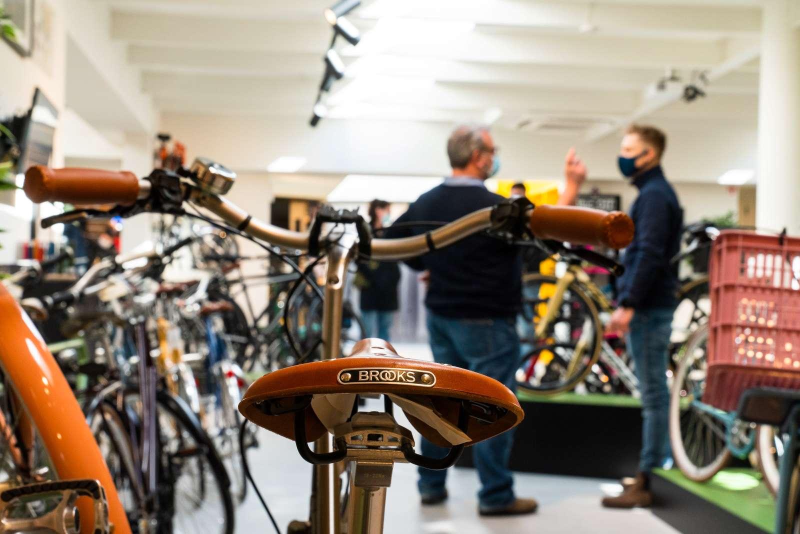 Brooks fietsen kopen Edegem, Antwerpen, Berchem
