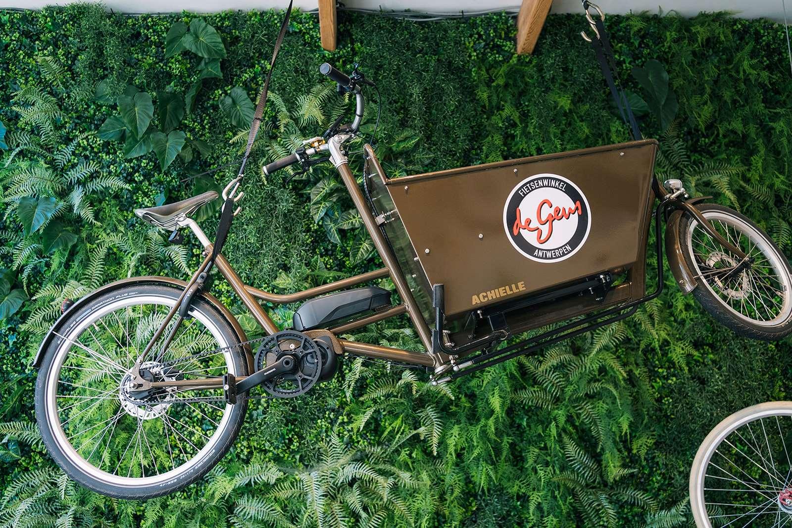 Fietsenwinkel Edegem Cargobike Achielle