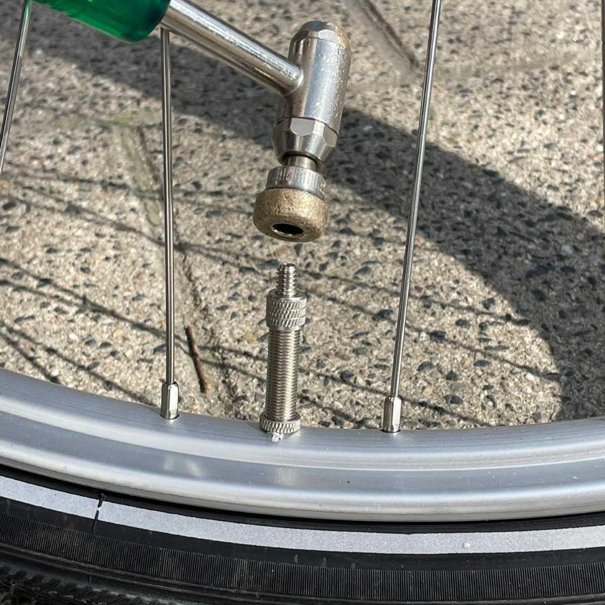 Hollands ventiel band oppompen compressor