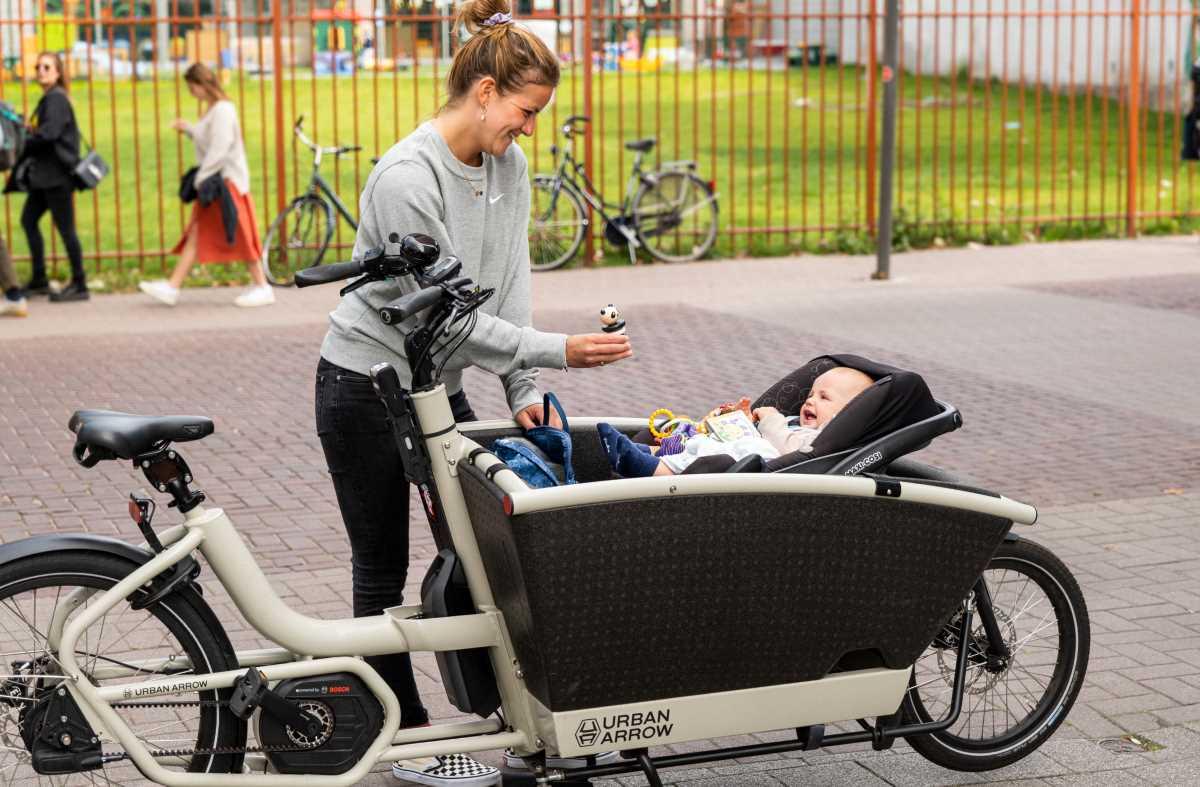 Urban Arrow cargo bike Antwerpen