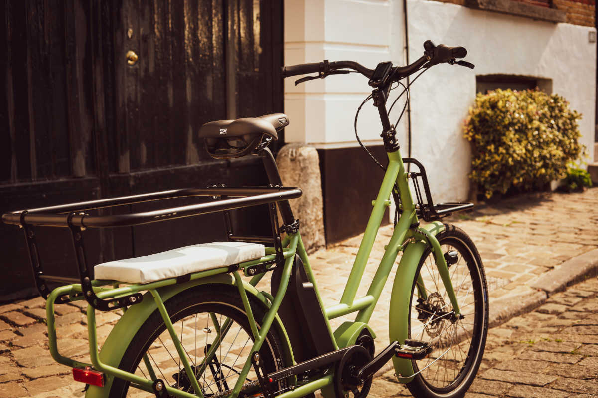 Longtail e-bike